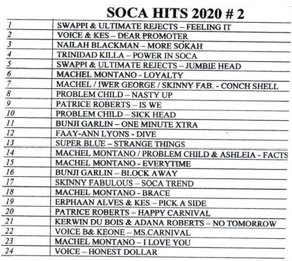 2020 - Soca Hits - #2