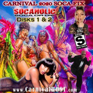Carnival 2020 SOCA FIX CD