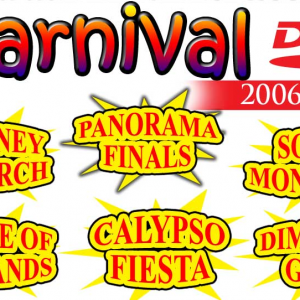 Get your Trinidad & Tobago Carnival Events, Competitions, Parade of the Bands, Panorama, Soca Monarch, Jouvert and more . . . with the Best of Trinidad & Tobago - Carnival 2006 - NOW!
